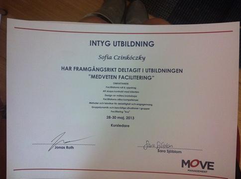 Aktör på Kurs – Faciliteringsutbildning hos Move i Göteborg