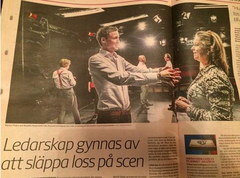 Svenska Dagbladet om forskningsprojektet som Aktör är delaktig i